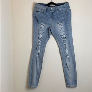 Mudd Distressed Low Rise Jeans
